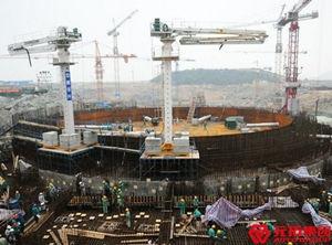 阳江核电站  使用产品:门式脚手架   钢跳板
