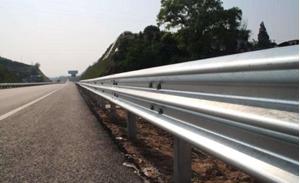 图片 高速公路波形梁钢护栏