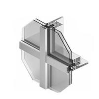 图片 玻璃幕墙铝型材