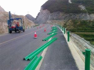 图片 盘山公路波形护栏板