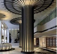 图片 酒店围柱顶花