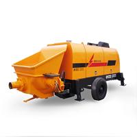 图片 拖泵 混凝土输送泵