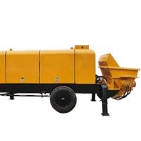 图片 移动式混凝土泵 大型拖泵