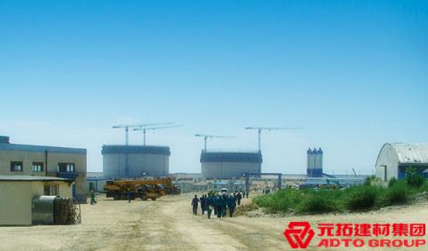 中核大连LNG项目工程使用元拓木模板